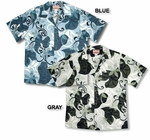 CLOSEOUT Abstract Vines men's vintage aloha shirt