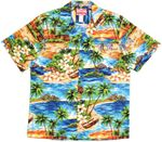Adirondack Chair Beach View Aloha Shirt