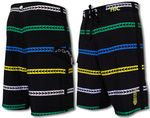 "21"" Alewa Stripe HIC 8 Way Stretch Boardshorts"