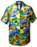 Florida Alligator Lagoon Men's aloha Shirt