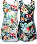 Aloha Aroma A-Line Sheath, zipper back Dress