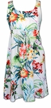 Aloha Aroma empire tie dress