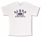 Aloha Beaches cotton T-Shirt - Four Color choices