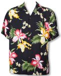 Aloha Orchid Men's Two Palms Shirt