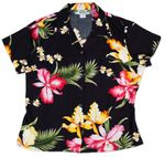 Aloha Orchid Womens Fitted Blouse