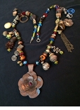 Wild Polynesian Inspiration 23.5 inch Necklace - Sold -