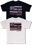 Aloha Strong Hawaiian Flag cotton t-shirt
