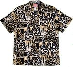 Ancient Polynesian Painting men's aloha shirt