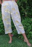 Anthurium Garden Cropped Pants