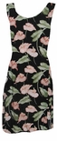 CLOSEOUT JUNIOR Anthurium Garden petite fitted dress