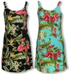 Anthurium Plumeria Women's Bias Sundress
