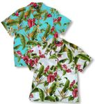 Anthurium Plumeria Womens Shirt