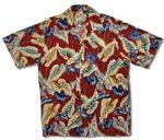 Anthurium Men's Vintage Rayon