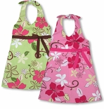 April Shower Girl's Empire Bow Halter