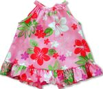 Aroma Bouquet Infant Girl's Cotton Blend Halter Cabana