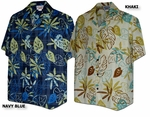 CLOSEOUT Art Designed Leaves men's shirt