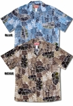 Pale Free Falling Leaf men's shirt