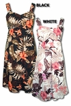 Autumn Floral Display Women's Elastic Back Sundress