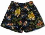 On The Road Uni-Sex Bamboo Boxer Shorts
