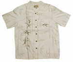 Bamboo Courage Embroidered small or medium aloha shirt