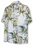 Bamboo Gold Lip Orchid Men's Shirt