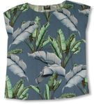Banana Leaf Womens Pullover Blouse