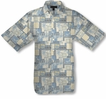 Batik Beach Men's Weekender Silk Blend Shirt
