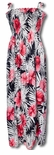 Big Hibiscus Women's One Size Short or Long Tube Dress