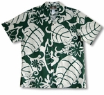 Big Leaf men's soft peached cotton shirt