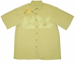 Bird of Paradise Chest Band Men's Embroidered Shirt
