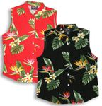 Bird of Paradise Display Womens Sleevless Blouse