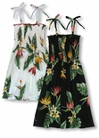 Bird of Paradise Display Girl's Tube Dress