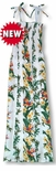 Bird of Paradise Panel Long Rayon Sundress