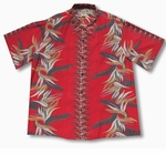 Bird of Paradise Panel Men's Vintage Kamehameha