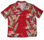 Bird of Paradise Panel women's paradise found shirt