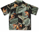 Bird of Paradise Summer Boy's 100% Rayon Hawaiian Shirt