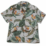 Bird of Paradise Summer Womans Shirt