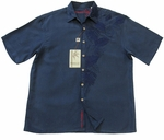 Blue Tropics Embroidered - Small Only