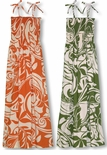 Bold Beach II Women's Long Hawaiian sundress