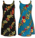 Bold Floral Attraction Bias A-Line Sundress