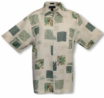 Botanical Garden Men's Weekender Silk Blend Shirt