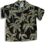 Palm Trees Boy's Rayon Shirt