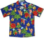 Christmas Tapa Santa boy's hawaiian Shirt