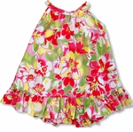 Bright Garden Girl's Halter 2pc