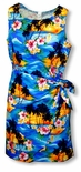 Brilliant Hawaiian Sunset Women's Sarong Dress
