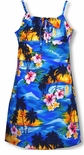 Brilliant Hawaiian Sunset Girl's Sundress