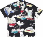 Cadillac Deco men's Paradise Found aloha shirt