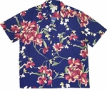 Cattleya Orchid Men's Paradise Found Hawaiian Aloha Shirt