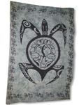 Turtle Tattoo Full Size Sarong Bathing Suit Cover-Up