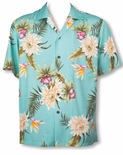 Ceres men's Two Palms rayon aloha shirt